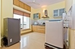 Apartment for sale in Arpora — Arpora Apartment with swimming pool | 10010  Arpora Apartment (#10010)  Goa, North, Arpora - Kitchen, living, dining room