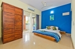 Apartment for sale in Arpora — Arpora Apartment with swimming pool | 10010  Arpora Apartment (#10010)  Goa, North, Arpora - Bedroom 1 (ensuite)