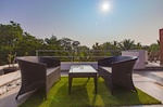 Luxury villa for sale in Vagator — Lpk 10 with swimming pool | 2370  LPK 10 (#2370)  Goa, North, Vagator - Outside view, territory